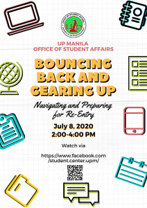 BOUNCING BACK AND GEARING UP: Navigating and Preparing for Re-entry_28 July 2020